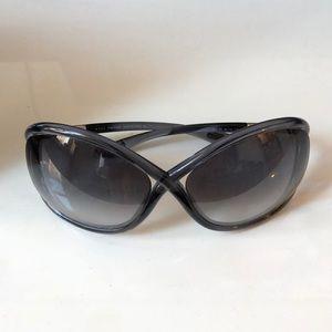 Tom Ford Whitney blue sun glasses